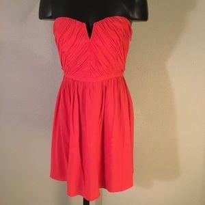 Kimchi Blue Coral Strapless Dress